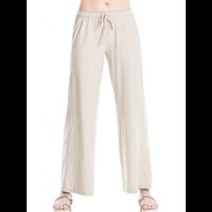 Max studio 100% Linen pants size small